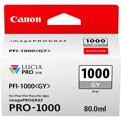 Canon 0552C001 PFI-1000GY Grey Ink Cartridge (106 Photos)