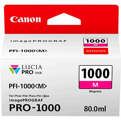Canon 0548C001 PFI-1000M Magenta Ink Cartridge (965 Photos)