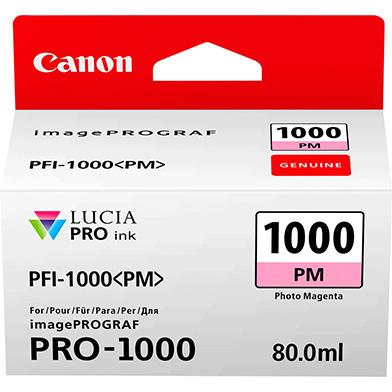 Canon 0551C001 PFI-1000PM Photo Magenta Ink Cartridge (374 Photos)