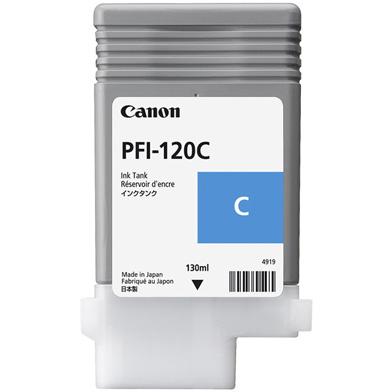Canon 2886C001 PFI-120C Cyan Ink Cartridge (130ml)