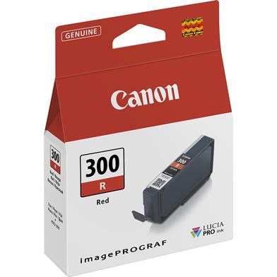 "Canon 4199C001 PFI-300R Red Ink Cartridge (920 4x6"" Photos)"