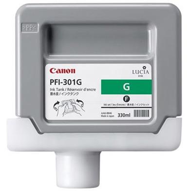 Canon 1493B001AA PFI-301G Green Ink Cartridge (330ml)