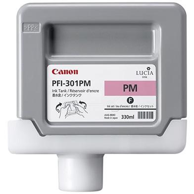 Canon 1491B001AA PFI-301PM Photo Magenta Ink Cartridge (330ml)
