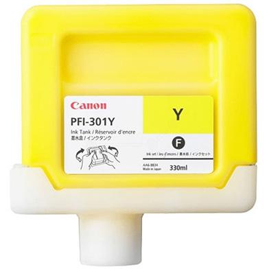 Canon 1489B001AA PFI-301Y Yellow Ink Cartridge (330ml)