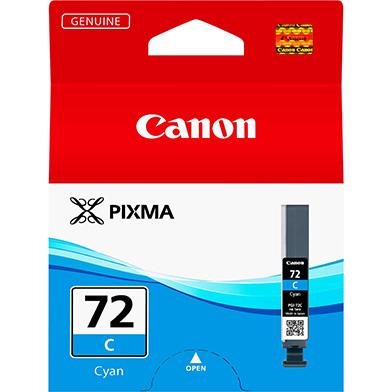 Canon 6404B001 PGI-72C Cyan Ink Cartridge (230 Photos)