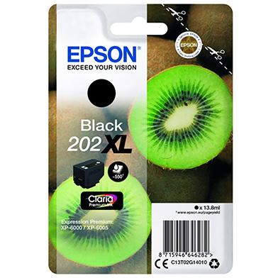 Epson C13T02G14010 Black 202XL Claria Premium Ink (550 Pages)