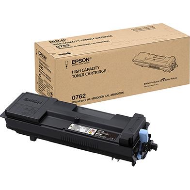 Epson C13S050762 Black Toner Cartridge (21,700 Pages)