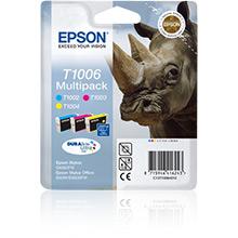 Epson T1006 Multipack 3-Colours CMY (11.1ml)