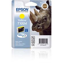 Epson Yellow T1004 Ink Cartridge (11.1ml)