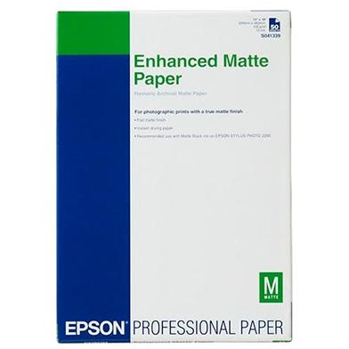 Epson C13S041719 Enhanced Matte Paper - 192gsm (A3+ / 100 Sheets)