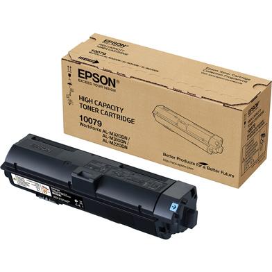 Epson C13S110079 High Capacity Black Toner Cartridge (6,100 Pages)