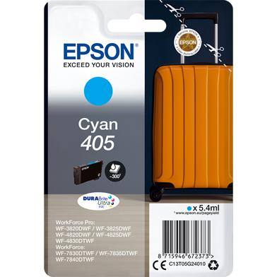 Epson C13T05G24010 405 Cyan DURABrite Ultra Ink Cartridge (300 Pages)