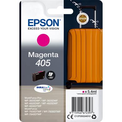 Epson C13T05G34010 405 Magenta DURABrite Ultra Ink Cartridge (300 Pages)
