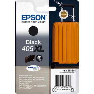 Epson C13T05H14010 405XL Black DURABrite Ultra Ink Cartridge (1,100 Pages)