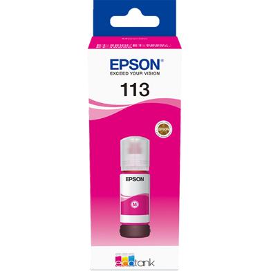 Epson 113 Magenta Ink Bottle (6,000 Pages)