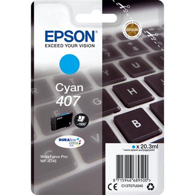 Epson C13T07U240 Cyan Ink Cartridge (1,900 Pages)