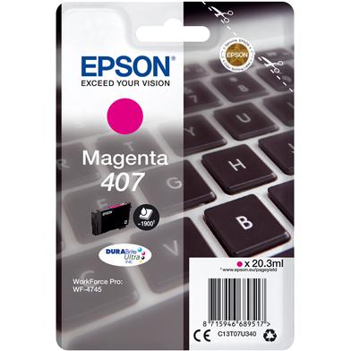 Epson C13T07U340 Magenta Ink Cartridge (1,900 Pages)