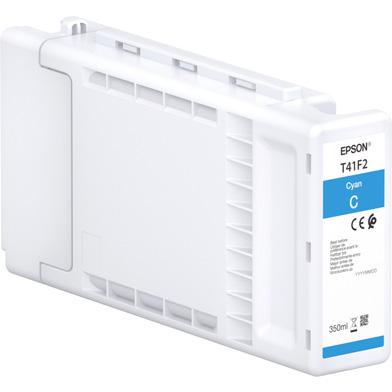 Epson C13T41F240 Singlepack UltraChrome XD2 Cyan Ink Cartridge (350ml)