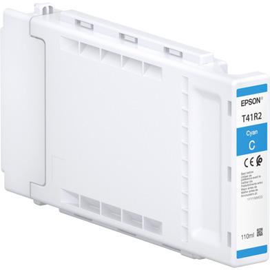 Epson C13T41R240 Singlepack UltraChrome XD2 Cyan Ink Cartridge (110ml)