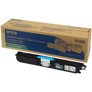 Epson C13S050560 Cyan Toner Cartridge (1,600 Pages)