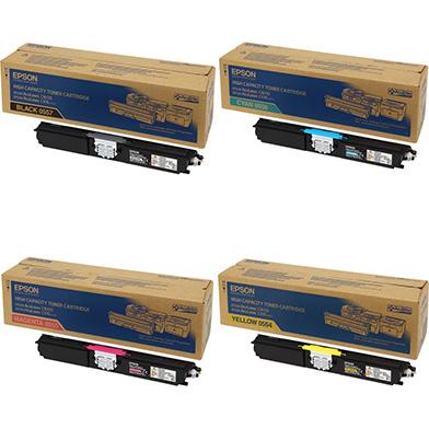 Epson  Hi-Cap Toner Rainbow Pack CMYK (2,700 Pages)