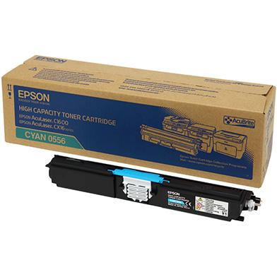 Epson C13S050556 Hi-Cap Cyan Toner Cartridge (2,700 Pages)