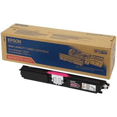 Epson C13S050555 Hi-Cap Magenta Toner Cartridge (2,700 Pages)