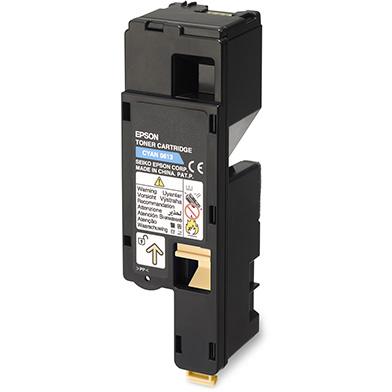 Epson C13S050613 Hi-Cap Cyan Toner Cartridge (1,400 Pages)