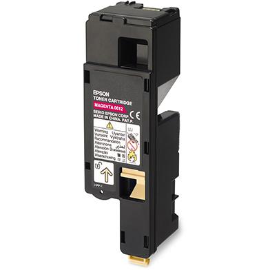 Epson C13S050612 Hi-Cap Magenta Toner Cartridge (1,400 Pages)