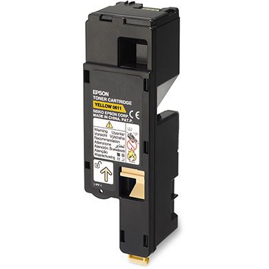 Epson C13S050611 Hi-Cap Yellow Toner Cartridge (1,400 Pages)