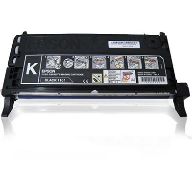Epson C13S051161 Black Toner Cartridge High Capacity (6,000 Pages)