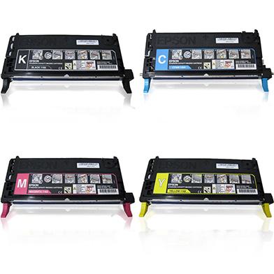 Epson  Standard Toner Rainbow Pack CMY (2K) + Black (3K)