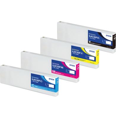 Epson EPSC7500VAL Ink Cartridge Value Pack CMY (294.3ml) K (295.2ml)