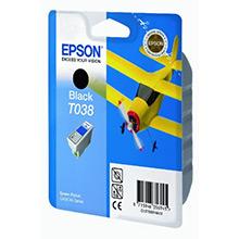 Epson C13T03814A10 Black T038 Ink Cartridge (10ml)