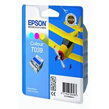 Epson C13T03904A10 3 Colour T039 Ink Cartridge (25ml)