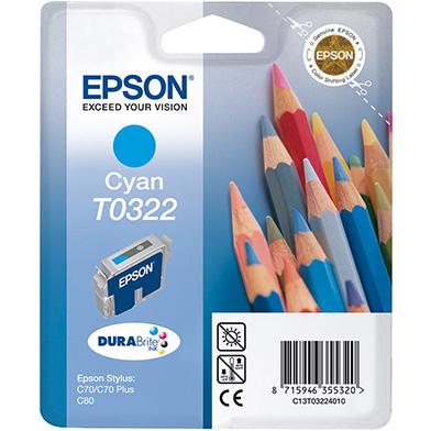 Epson C13T03224010 Cyan T0322 Ink Cartridge (16ml)