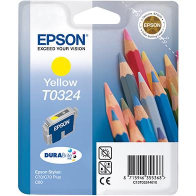 Epson C13T03244010 Yellow T0324 Ink Cartridge (16ml)