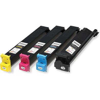 Epson  S05047 Toner Rainbow Pack CMY (14k) + Black (21K)