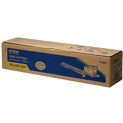 Epson C13S050474 Yellow Toner Cartridge (14,000 Pages)