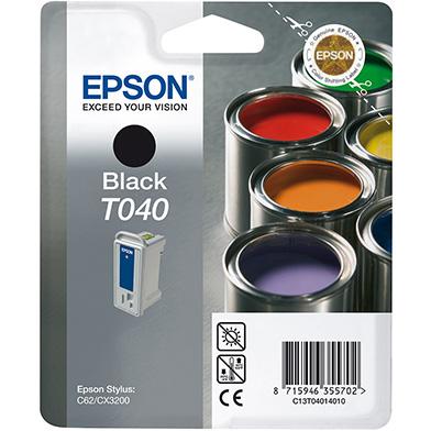 Epson C13T04014010 Black T040 Ink Cartridge (17ml)