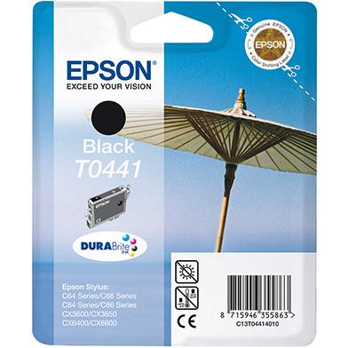 Epson C13T04414010 Black T0441 Ink Cartridge (600 Pages)