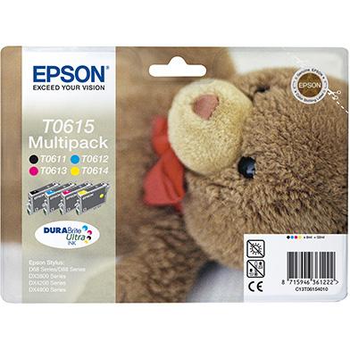 Epson C13T06154010 T0615 CMYK Multipack (4 x 8ml)