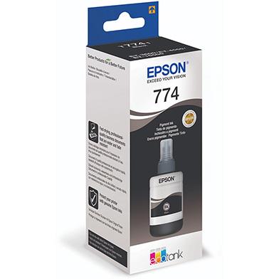 Epson C13T774140 T7741 Pigment Black Ink Bottle (6,000 Pages)