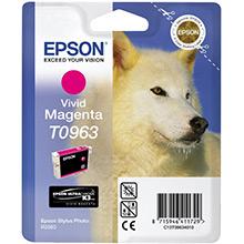 Epson C13T09634010 Magenta T0963 Ink Cartridge (11ml)