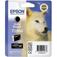 Epson C13T09684010 Matte Black T0968 Ink Cartridge (11ml)
