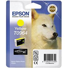 Epson C13T09644010 Yellow T0964 Ink Cartridge (11ml)