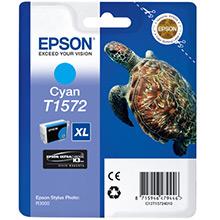 Epson C13T15724010 Cyan T1572 Ink Cartridge (25.9ml)