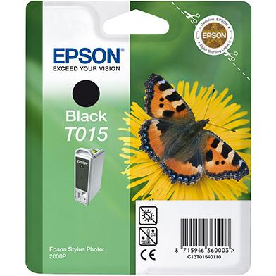 Epson C13T01540110 Black T0154 Ink Cartridge (15ml)