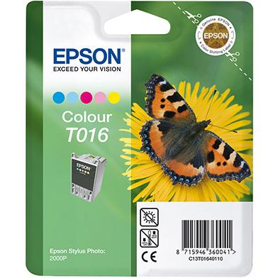Epson C13T01640110 T016 5 Colour Ink Cartridge (66ml)