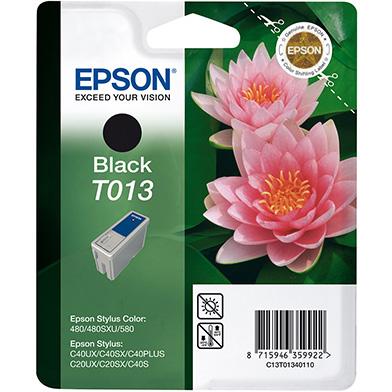 Epson C13T01340110 Black T013 Ink Cartridge (10ml)